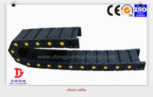 CNC Flexible Cable Drag Chain, Cable Carrier