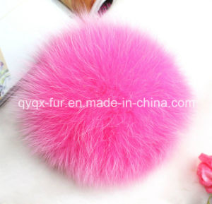 Manufacturer Wholesale 100% Real Fox Fur Ball with Cheap Price