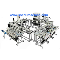Flexible Manufacture System Mechatronics Training Lab Modular Product System