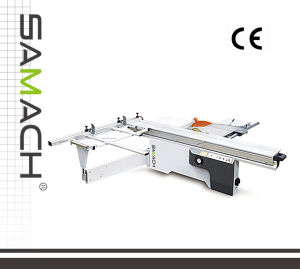 Big Sale Panel Saw Rtj45A 3200mm Table Bandsaw Blade 400mm 5.5kw Motor Sliding Panel Saw pictures & photos