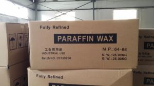 64#Fully and Semi Refined Paraffin Wax Carton Wax for Candle Maiking