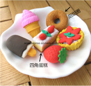 Promotion 3D Cake Eraser Food Shape Eraser pictures & photos