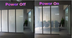 Switchable Electric Smart Window Glass Pdlc Film pictures & photos