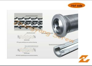 Bimetallic Bimetal Screw and Barrel with Long Working Life pictures & photos