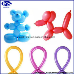 Party Favors Wholesale Fluorescent Latex Magic Balloon, Long Magic Balloon pictures & photos