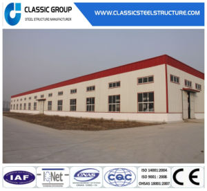 Prefabricated Light Steel Structure Warehouse with Sandwich Panel pictures & photos