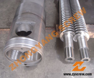 92/188 PVC Conical Twin Screw and Barrel pictures & photos