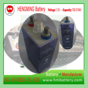 1.2V 200ah Kpx Series Nickel Cadmium Ni-CD Battery pictures & photos