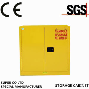China Safety Yellow Powder Coated Flammable Laboratory Chemical
