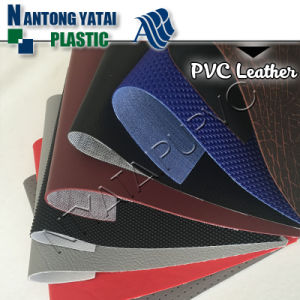Attractive Design Waterproof PVC Synthetic Leather for Seats
