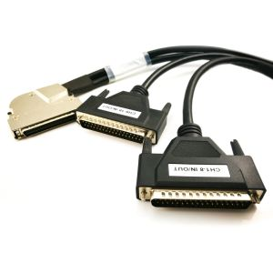 Mdr 68pin to 2X dB 37pin Cable Adapter