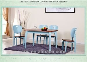Dt-4065 American Country Style Minimalist Dining Table Set pictures & photos
