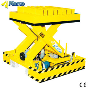 8-10 Ton Marco Single Scissor Lift Table with CE Approved pictures & photos