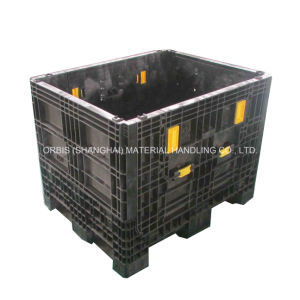 980*755*760mm Large Plastic Storage Folding Bulk Container