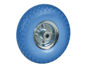 2.50-4 250-4 Flat Free PU Foam Wheel pictures & photos
