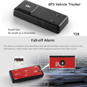Android/Ios Car GPS Tracker with 2500mAh Battery Long Standby T28 pictures & photos