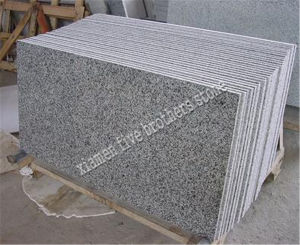 G640 Tombstone Slab White Granite Paving Stone