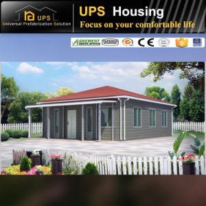 Long Life Span Fireproof Prefabricated Office Building with Decorations pictures & photos