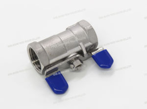 1PC Female Thread Butterfly Handle Float Ball Valve pictures & photos