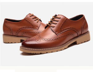 Black Genuine Leather Mens Daily Wear Unique Desigin Office Shoes With Steel Toe