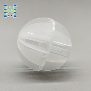 Plastic Polyhedral Hollow Ball Trickling Filter Media pictures & photos