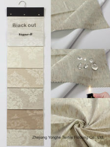 Home Textile Polyester Woven Fabric Waterproof Fr Blackout Window Curtain Fabric for Roller Blind pictures & photos