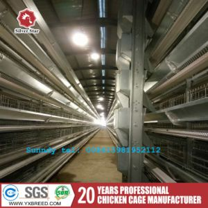 New H Type 6 Tiers Layer Chicken Cage for Big Farm pictures & photos