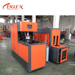 One Heater One Blower Semi Auto Plastic Bottle Blow Molding Machine