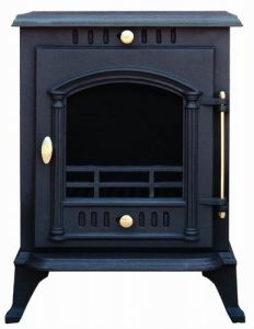 Hand Made Wood Burning Cast Iron Stove (FIPA026) , Wood Stove