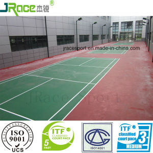 Long Last and Weather Resistance Badminton Court Sports Flooring pictures & photos