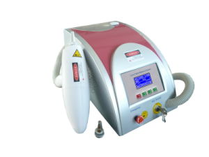 Double-Rod Diamond 1064nm Q-Switch ND YAG Laser Tattoo Removal Machine