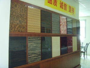 MDF Wood Covering with Artificial Veneer Cabinets Doors