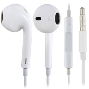 3.5mm Stereo Earphone for iPhone 5 5g 5s 5c 6 Plus Earbud Earpod with Mic Remote Control (OT-02)