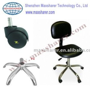 ESD Cleanroom Chair With Black Leather (B0301 Black)