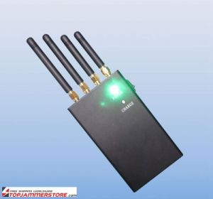 4 Band 4W Portable GPS Cell Phone Signal Jammer pictures & photos