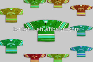 6XL Custom Made Embroidered Reversible Sublimation Ice Hockey Jerseys