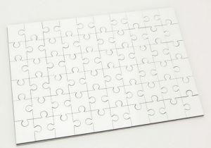 Dye Sublimation Blanks Hardboard MDF Blank A4 Jigsaw Puzzle