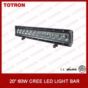 20 Inch 60W Single Row LED Light Bar