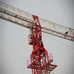 Flat Top Tower Crane Hst5610 Made in China by Hsjj pictures & photos