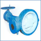 Cast Iron/Ductile Iron UK Standard Flange Butterfly Valve
