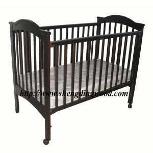 Wooden Baby Cot (BC-005)