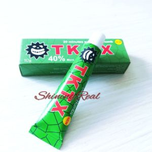 China 10g Pain Relief Painless Green Tktx 40 Tattoo Anesthetic