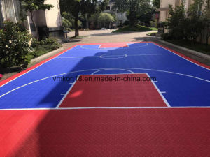 Eco Friendly Synthetic Basketball Court