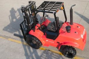 Feeler 3ton SUV Rough Terrain Forklift with High Quality pictures & photos