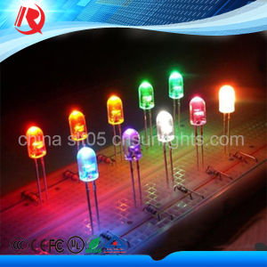 5mm LED Light Emitting Diode High Brightness Water Clear pictures & photos
