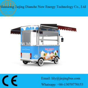 Ce Approved Ice Cream Vendor Food Carts for Sale pictures & photos