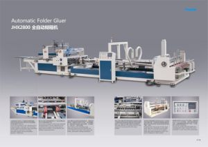 Automatic Folding Gluing Machine for Carton Box