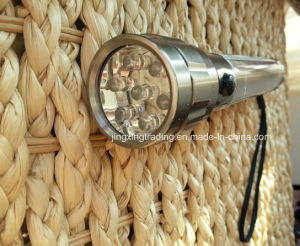Popular High Quality Aviation Aluminum Alloy Solar Flashlight (JX-SF007) pictures & photos