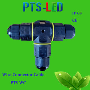 IP68 Waterproof 3-5 Pin Wire Connector / Connector Cable for Street Lamp Lighting pictures & photos