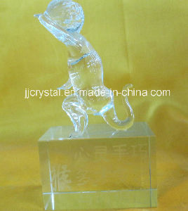 High Quality Transparent Crystal Animals Model for Souvenir Jd-Ca-245 pictures & photos